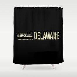 Black Flag: Delaware Shower Curtain