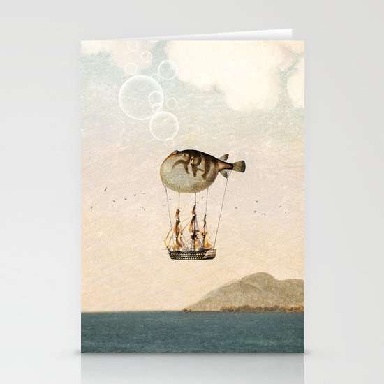 The Big Journey Stationery Cards