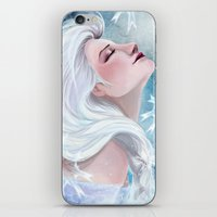 elsa iPhone & iPod Skins featuring Elsa by Ines92