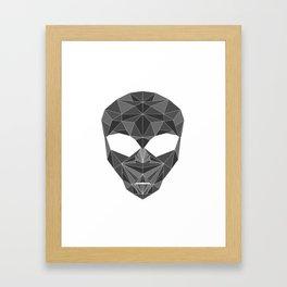 lowpolycyberalien Framed Art Print