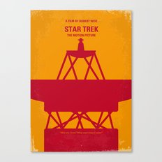 No081 My Star Trek 1 minimal movie poster Canvas Print