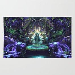 Convalescence - Visionary - Fractal - Manafold Art Rug