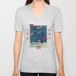 Mystic Blue Unisex V-Neck