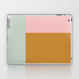 Abstract Geometric Color Block Design Laptop & iPad Skin
