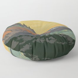 Five Islands Provincial Park Poster Floor Pillow