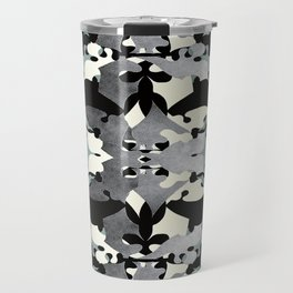 Shadow Frost- Art Deco Decoupage Travel Mug
