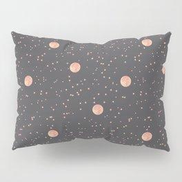 Rosè Moon Pattern Pillow Sham