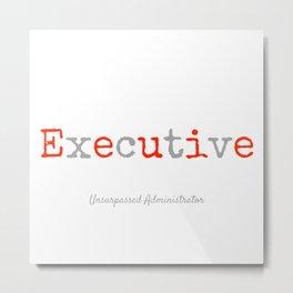 Executive Metal Print