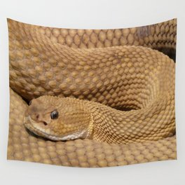 Brown Rattlesnake  Wall Tapestry