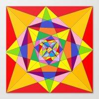 fibonacci Canvas Prints featuring FIBONACCI  by PlanetLOUDville