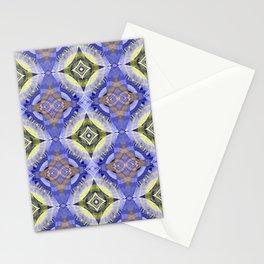 Star Modern Glow Print Stationery Cards