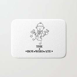 The Boy Who Ate Line Art - Ron Weasley Bath Mat