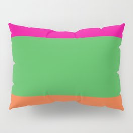 Rainbow Moon Pillow Sham