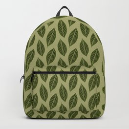 green foliage Backpack