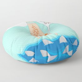 What a beautiful day! Floor Pillow
