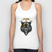 architect Tank Tops featuring The Architect by ColonelCheru
