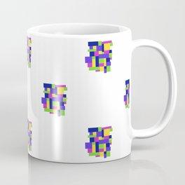 Pattern Happy colors quadrille Coffee Mug