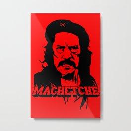 MachetChe Metal Print