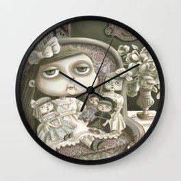 Miss Prudence Perkes Wall Clock