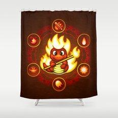 Salamando Shower Curtain