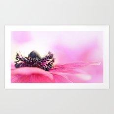 Precious Pink... Art Print
