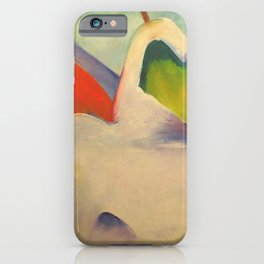 """Franz Marc """"Haystacks in the Snow"""" iPhone Case"""