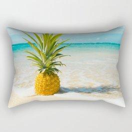 Pineapple Beach Rectangular Pillow