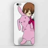 kawaii iPhone & iPod Skins featuring kawaii by Grim99