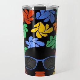 Afro Diva : Colorful Travel Mug