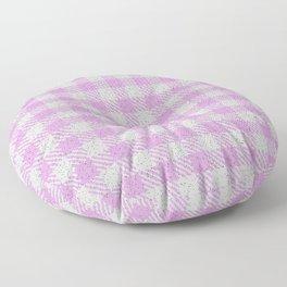 Plum Buffalo Plaid Floor Pillow