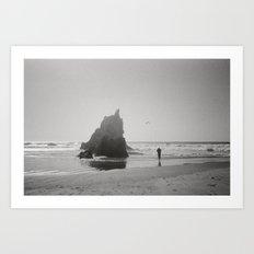 Coast Four Art Print