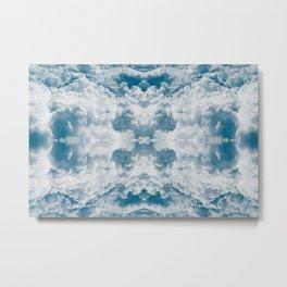 Heavenly Clouds Mandala | X Marks the Spot Metal Print