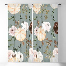 Autumn is calling - pumpkins are falling Blackout Curtain