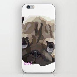 Pug Luv iPhone Skin