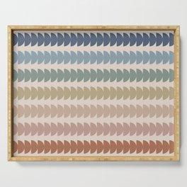 Maude Pattern- Vintage Multicolor Serving Tray
