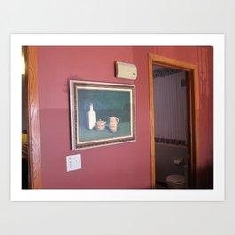 wall painting Art Print