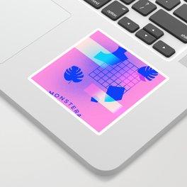 M O N S T E R A Sticker