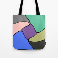 trip Tote Bags featuring Trip by Cs025