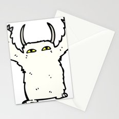 abominable douglas Stationery Cards