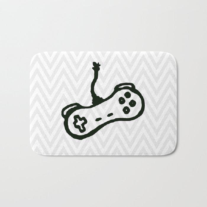 video games. Bath Mat
