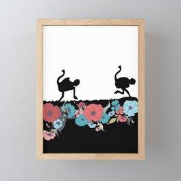 Blomme & Sonskyn Framed Mini Art Print