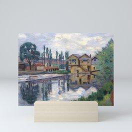Armand guillaumin the Poitiers sawmill Mini Art Print