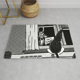 Shazam x Looney Tune Rug