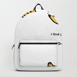 JUST A PUNNY BANANA JOKE! Backpack