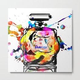 Parfum Rainbow Metal Print