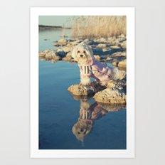 El reflejo Art Print