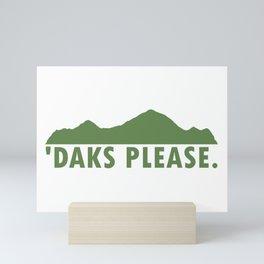Daks Please Mini Art Print