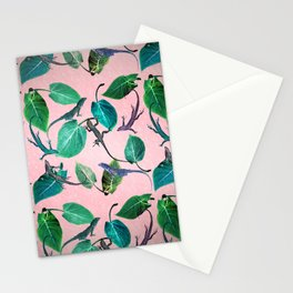 Mayfair Lizards and Leaves Stationery Cards