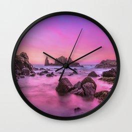 Rosie Sunset Wall Clock