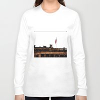 colombia Long Sleeve T-shirts featuring Plaza Of Bolivar, Colombia. by Alejandra Triana Muñoz (Alejandra Sweet